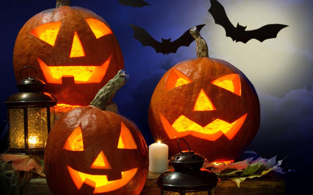 Gruseliges Halloween-Buffet