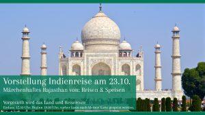 Vorstellung Indienrundreise: Märchenhaftes Rajesthan