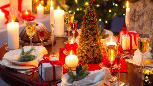 Weihnachtsbuffet und Gänseessen